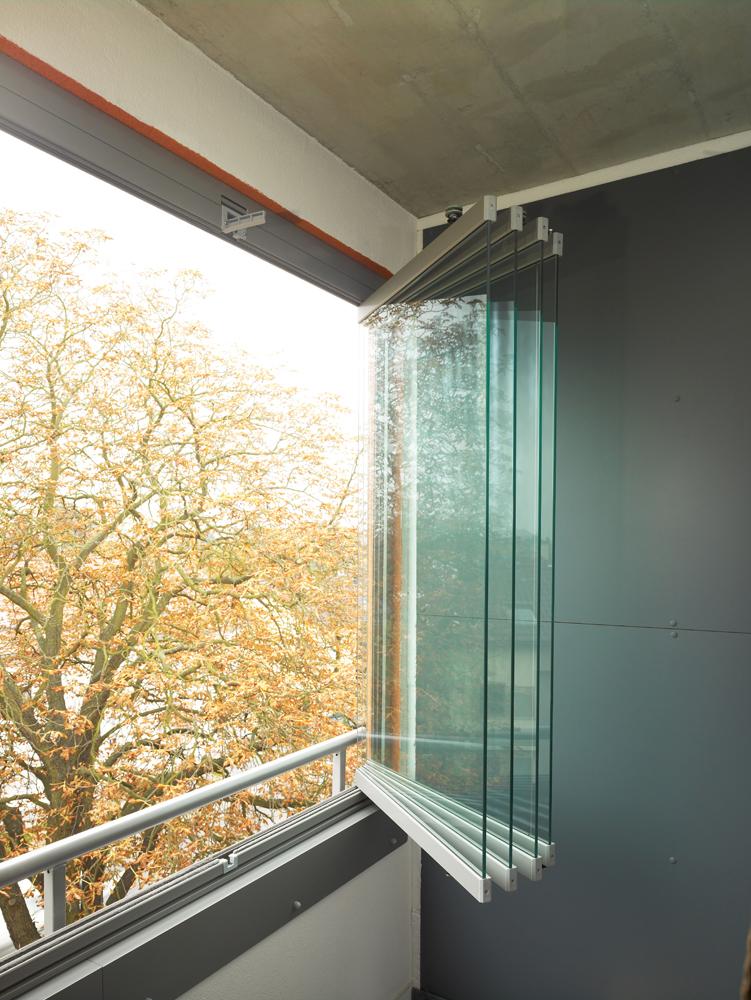 Coulissant pivotant sl25 balcon for Verre de fenetre